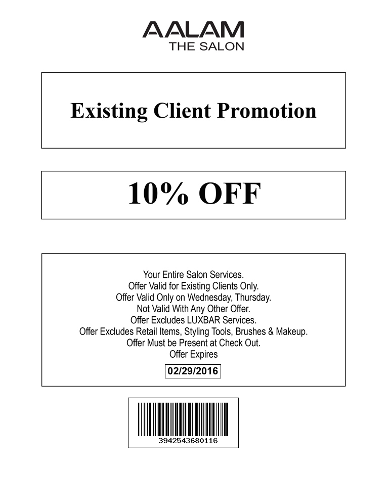 Promotions dallas best hair salon plano frisco for Aalam salon prices
