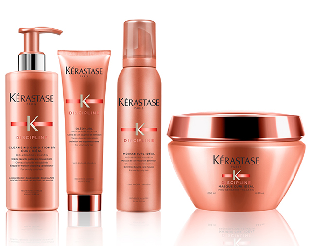 NEW KERASTASE DISCIPLINE CURL IDEAL