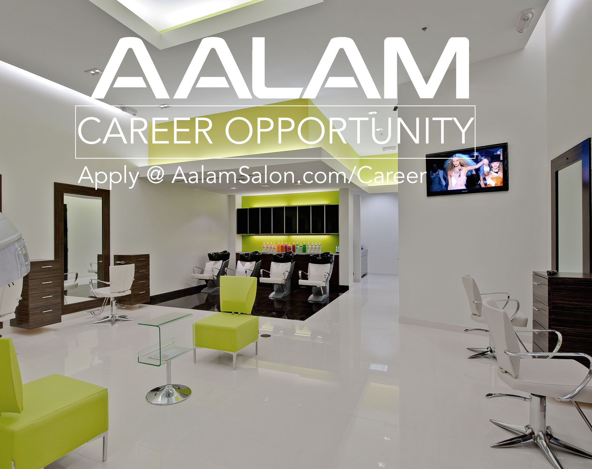 AALAM, Now Hiring Experienced Hairdressers & Apprentices – Open Position