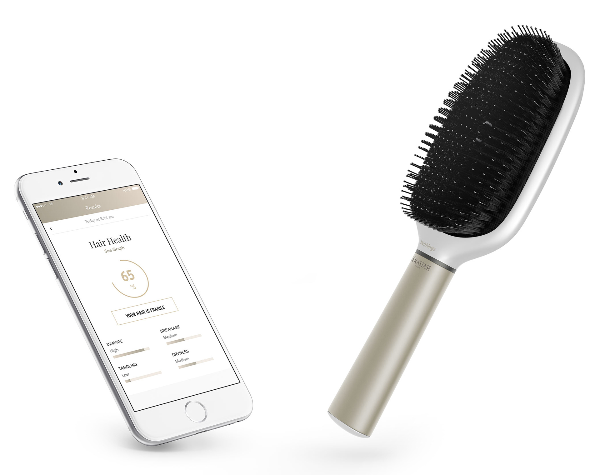 SMART HAIRBRUSH  KERASTASE HAIR COACH